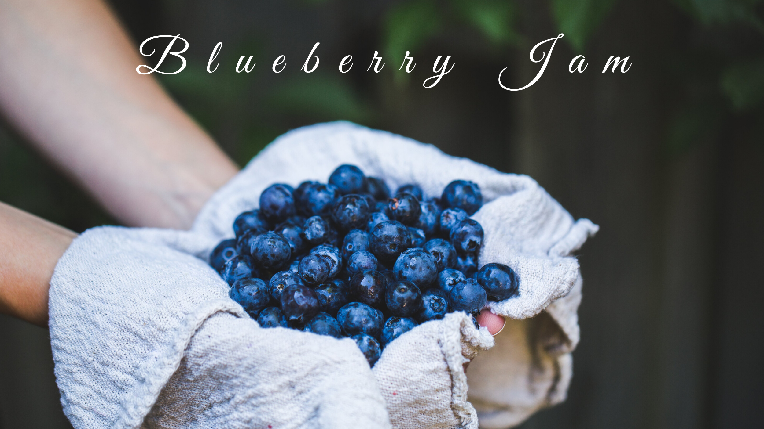 Blueberry Jam (no pectin)