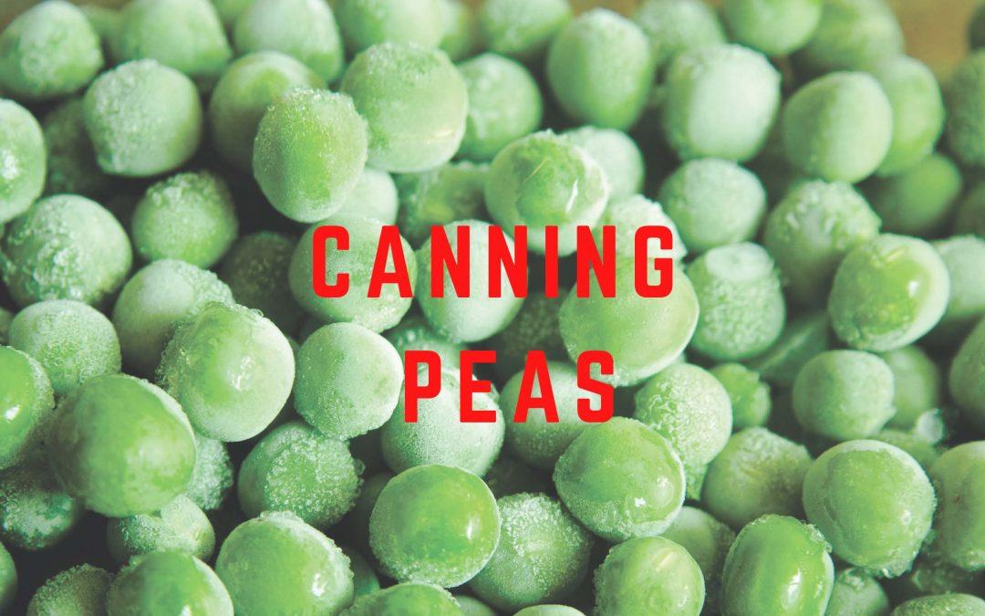 canning peas