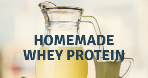 Homemade Whey Protein