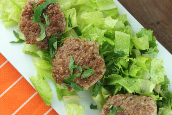 Lamb Burgers -- quick and easy