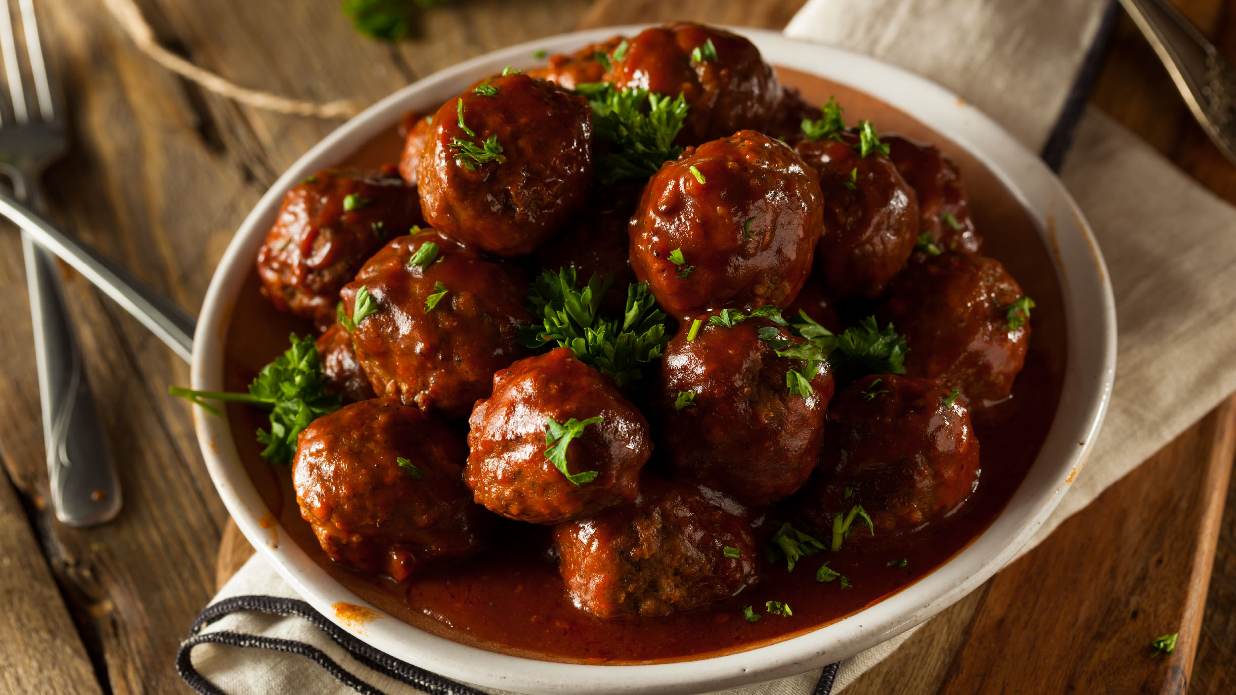 Moroccan Seasoned Meatballs