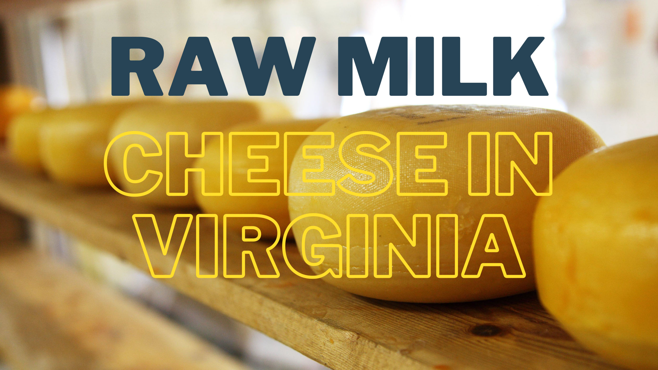 Raw Milk Cheese in Virginia